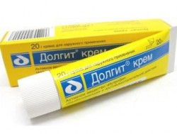Долгит, крем д/наружн. прим. 5% 100 г №1